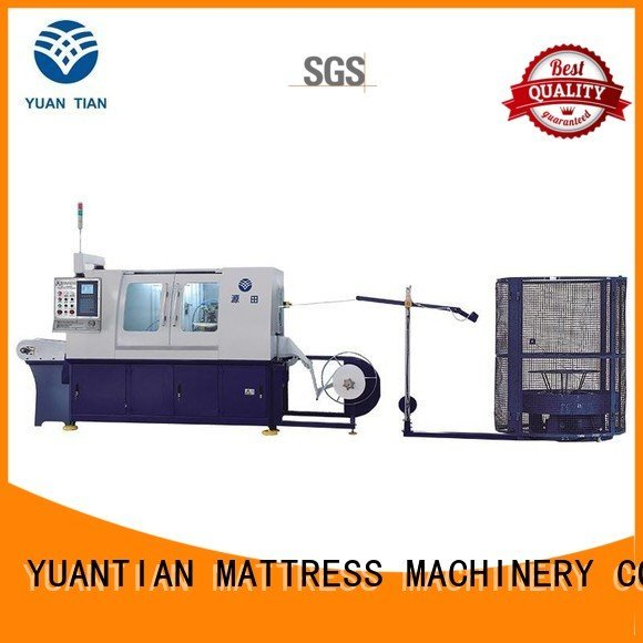 Automatic Pocket Spring Machine assembling Automatic High Speed Pocket Spring Machine dn6 YUANTIAN Mattress Machines