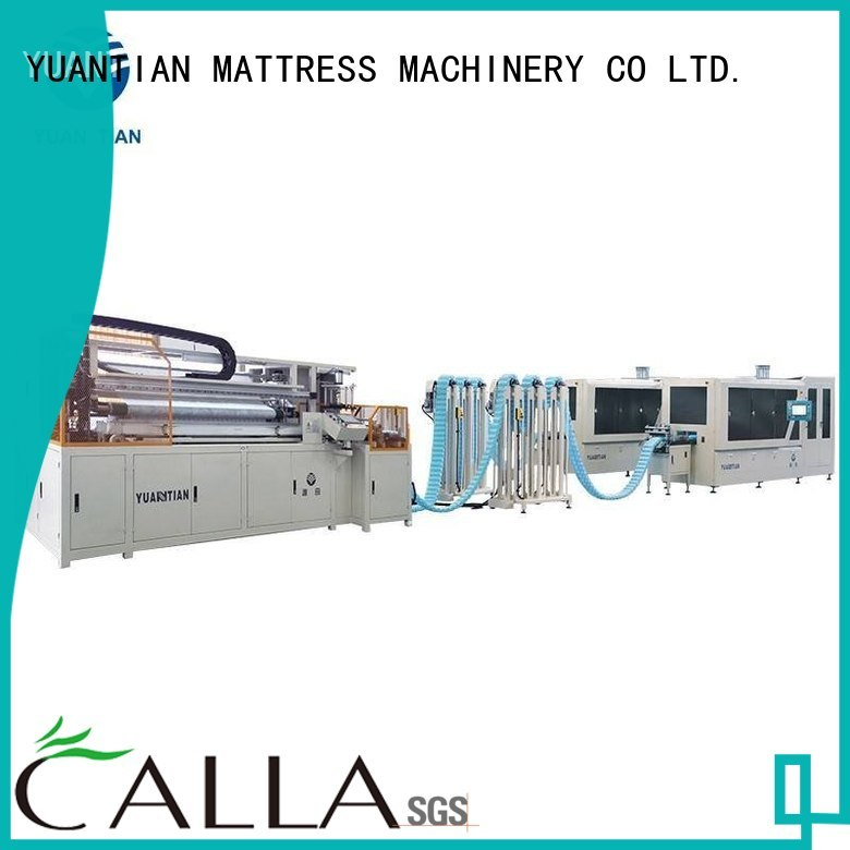 line coiling pocketspring Automatic High Speed Pocket Spring Machine YUANTIAN Mattress Machines