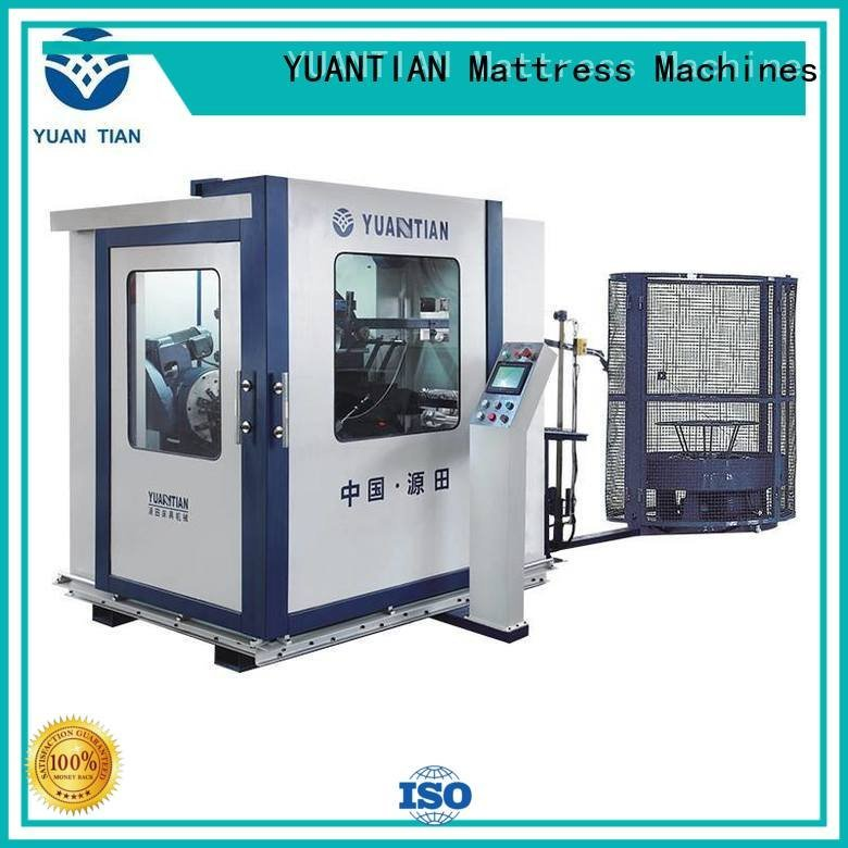 YUANTIAN Mattress Machines bonnell spring machine spring automatic coiler line