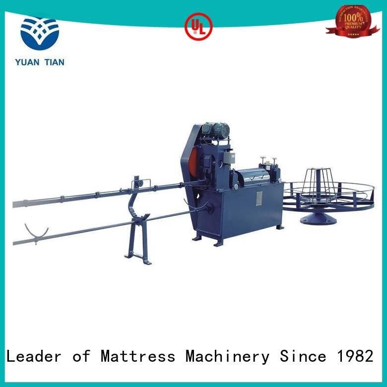 border straightening pneumatic mattress packing machine YUANTIAN Mattress Machines