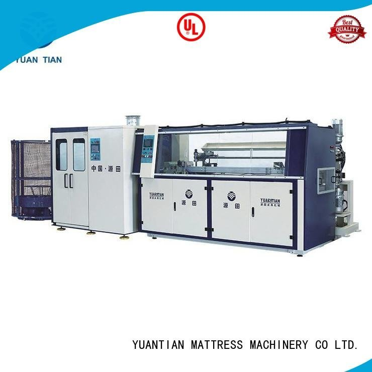 bonnell machine automatic spring YUANTIAN Mattress Machines Automatic Bonnell Spring Coiling Machine