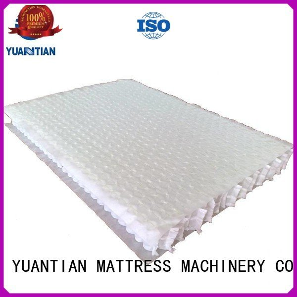 YUANTIAN Mattress Machines Brand unit with mattress spring unit top nested