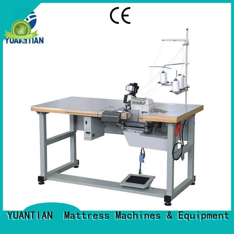 Double Sewing Heads Flanging Machine double flanging heads mattress
