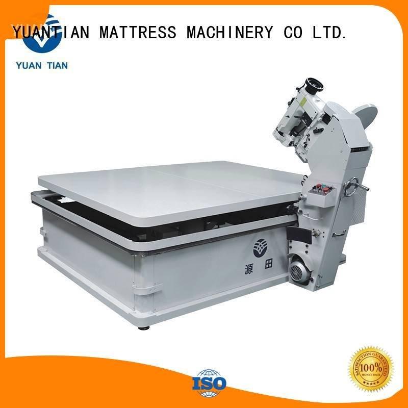 YUANTIAN Mattress Machines mattress tape edge machine table machine tape binding