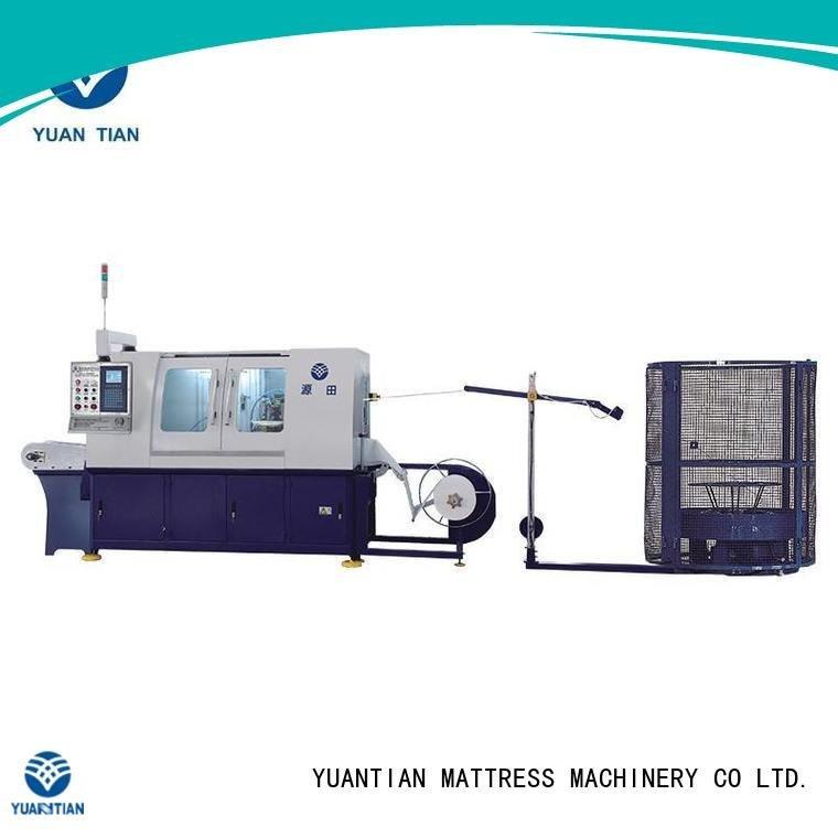coil spring manufacturing machine machine pocketspring Automatic High Speed Pocket Spring Machine YUANTIAN Mattress Machines War