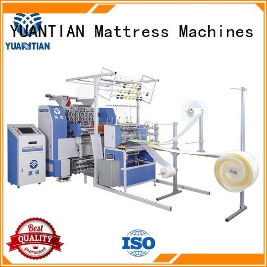 YUANTIAN Mattress Machines quilting machine for mattress price bhf1 sa330 highspeed