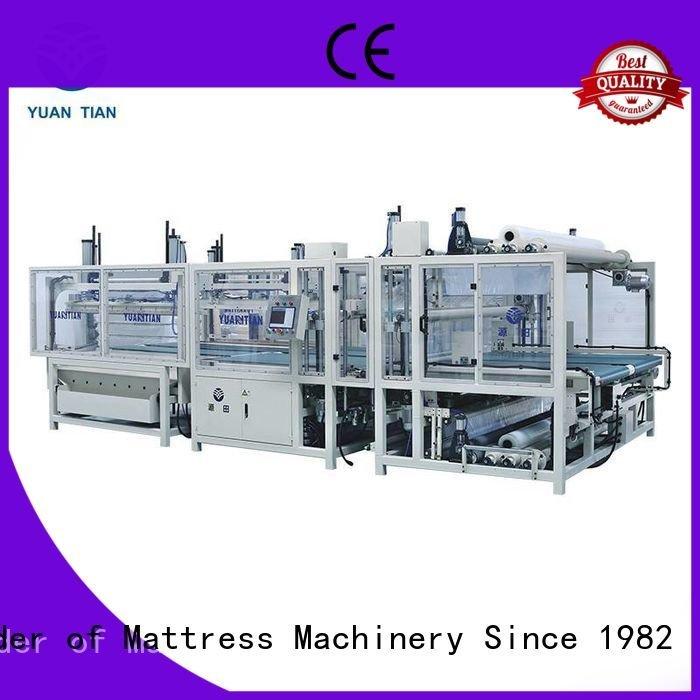 YUANTIAN Mattress Machines spring straightening mattress packing machine unpressing border