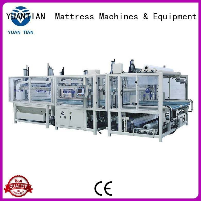 foam mattress making machine unpressing border mattress packing machine YUANTIAN Mattress Machines Warranty