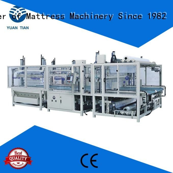 YUANTIAN Mattress Machines mattress packing machine straightening rollpack packing unpressing