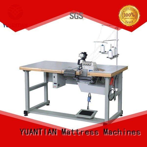OEM Mattress Flanging Machine machine sewing Double Sewing Heads Flanging Machine