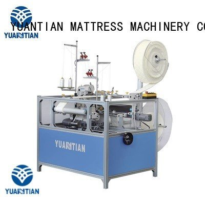Double Sewing Heads Flanging Machine flanging Mattress Flanging Machine machine YUANTIAN Mattress Machines