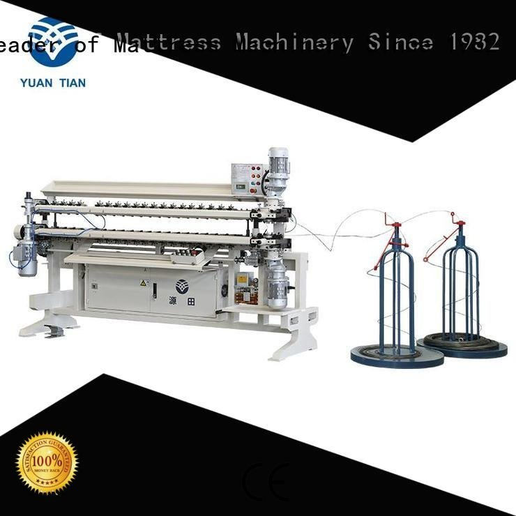 YUANTIAN Mattress Machines Brand machine assembling bonnell spring unit machine semiauto spring