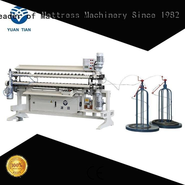 YUANTIAN Mattress Machines Brand machine assembling bonnell spring unit machine semiauto spring