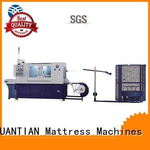 Custom Automatic High Speed Pocket Spring Machine assembling dn6 dtdx012 YUANTIAN Mattress Machines
