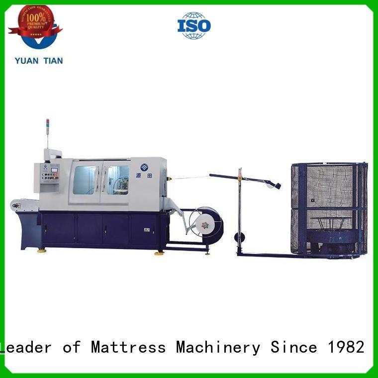 high Automatic High Speed Pocket Spring Machine YUANTIAN Mattress Machines Automatic Pocket Spring Machine
