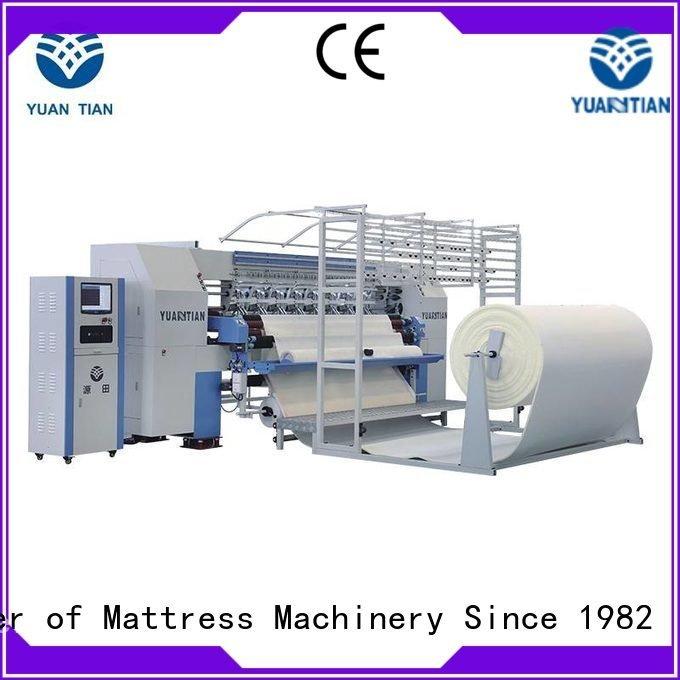 quilting machine for mattress price double YUANTIAN Mattress Machines Brand quilting machine for mattress