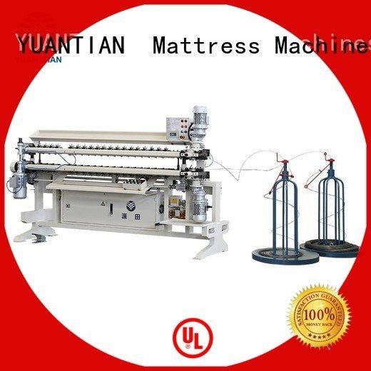 YUANTIAN Mattress Machines bonnell spring unit machine machine spring cw2 semiauto