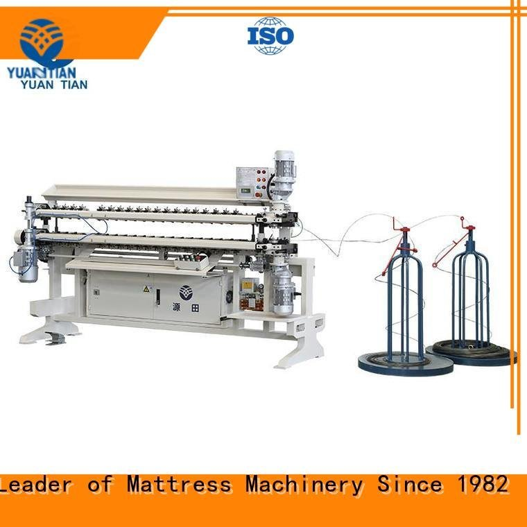 bonnell spring unit machine semiauto Bonnell Spring Assembly  Machine YUANTIAN Mattress Machines Brand