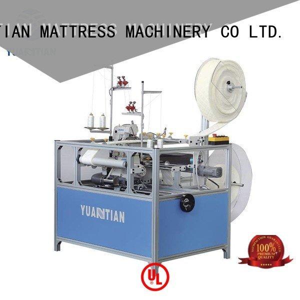 double Mattress Flanging Machine YUANTIAN Mattress Machines Double Sewing Heads Flanging Machine