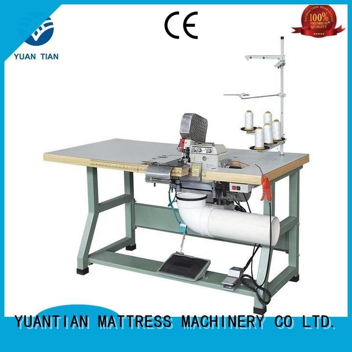 Double Sewing Heads Flanging Machine multifunction Mattress Flanging Machine sewing YUANTIAN Mattress Machines