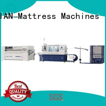 coiling Automatic High Speed Pocket Spring Machine speed automatic YUANTIAN Mattress Machines company