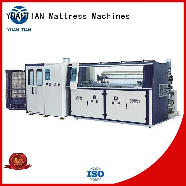 YUANTIAN Mattress Machines tx012 Automatic Bonnell Spring Coiling Machine bonnell line