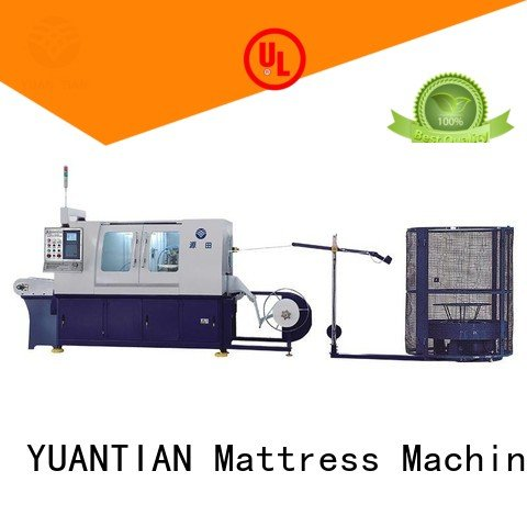 dzh3 Automatic High Speed Pocket Spring Machine YUANTIAN Mattress Machines Automatic Pocket Spring Machine
