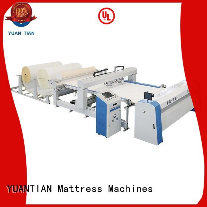 YUANTIAN Mattress Machines double quilting machine for mattress mattress singleneedle