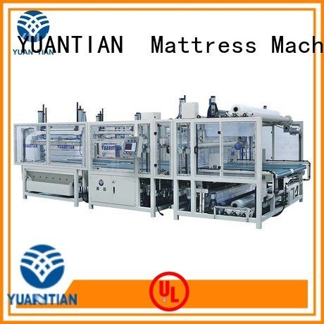 unpressing mattress packing machine packing bz3 YUANTIAN Mattress Machines