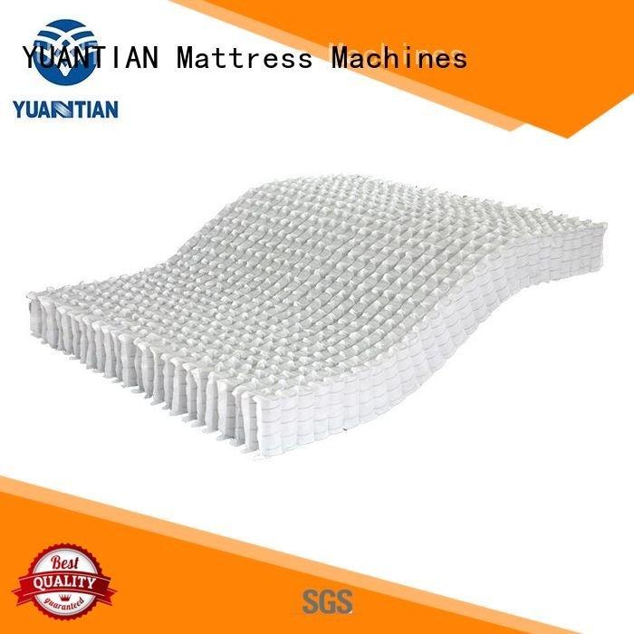 YUANTIAN Mattress Machines spring pocket bottom mattress spring unit top