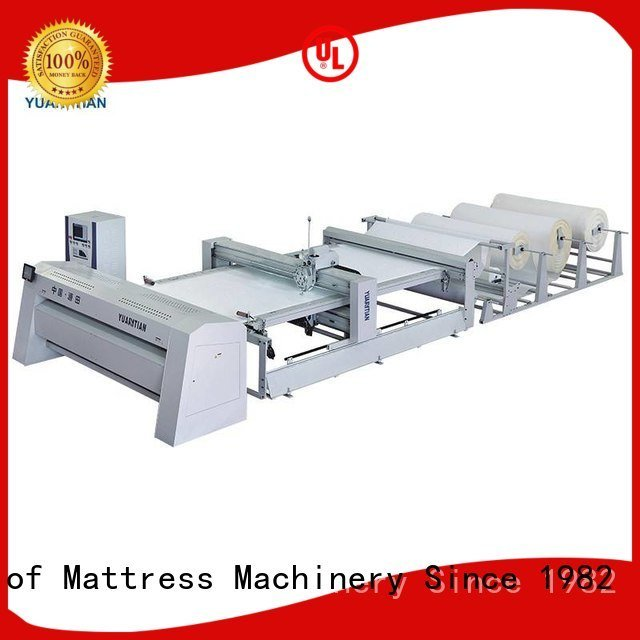 dzhf1g four double YUANTIAN Mattress Machines quilting machine for mattress price