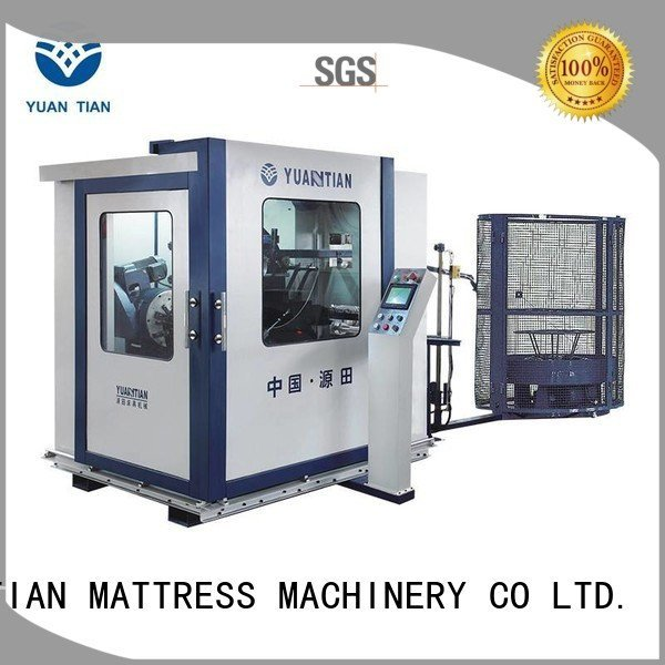 YUANTIAN Mattress Machines coiler automatic Automatic Bonnell Spring Coiling Machine production bonnell