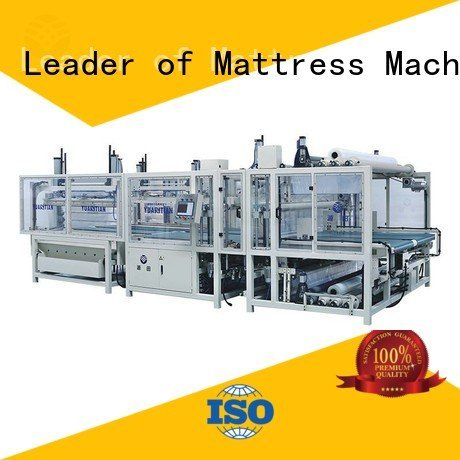 YUANTIAN Mattress Machines Brand wire pneumatic poket mattress packing machine rollpack