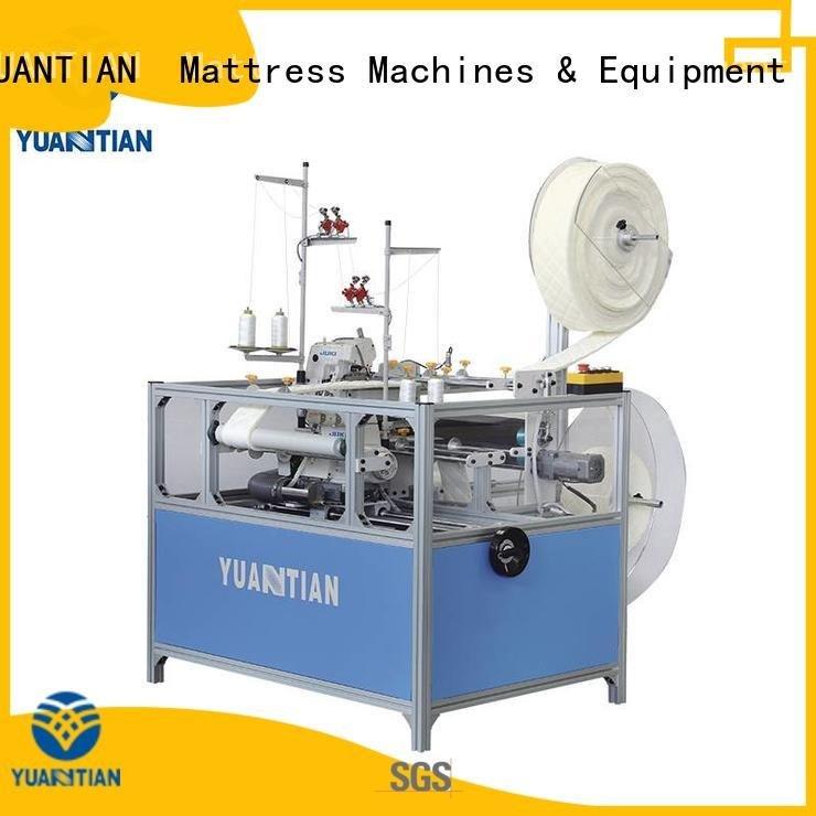 mattress Mattress Flanging Machine YUANTIAN Mattress Machines Double Sewing Heads Flanging Machine