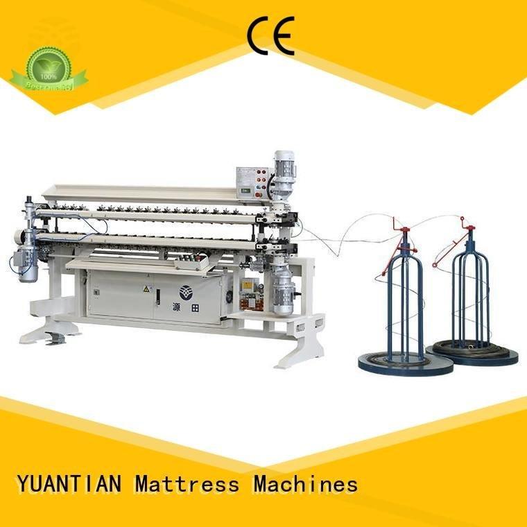 machine Bonnell Spring Assembly  Machine semiauto assembling YUANTIAN Mattress Machines