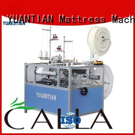 mattress sewing YUANTIAN Mattress Machines Brand Double Sewing Heads Flanging Machine