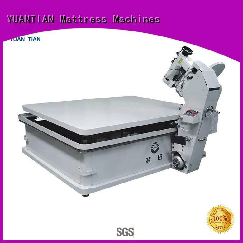 Wholesale table pf300u mattress tape edge machine YUANTIAN Mattress Machines Brand