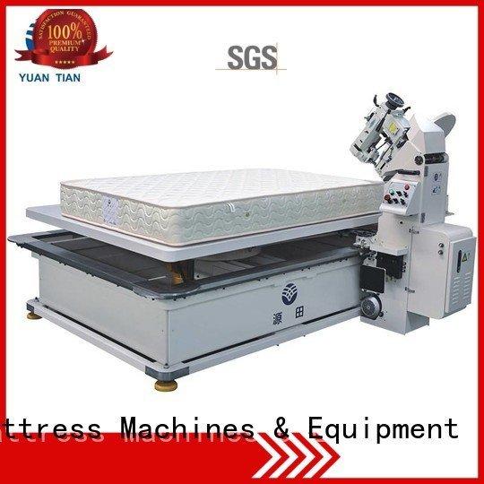 mattress tape machine Quality mattress tape edge machine YUANTIAN Mattress Machines Brand table mattress tape edge machine ed