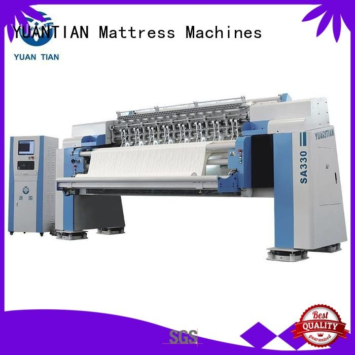 single quilting quilting machine for mattress ls320 YUANTIAN Mattress Machines