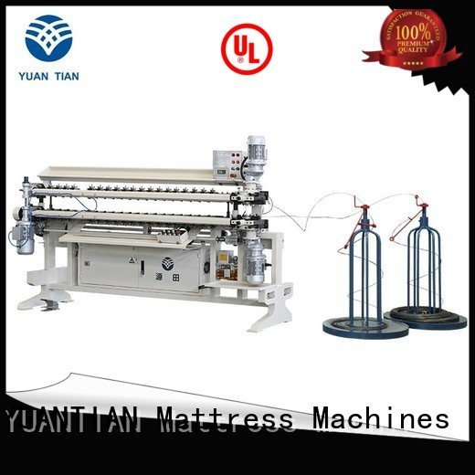 Quality bonnell spring unit machine YUANTIAN Mattress Machines Brand assembling Bonnell Spring Assembly  Machine