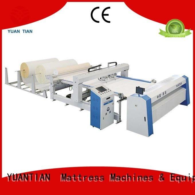 YUANTIAN Mattress Machines Brand four quilting machine for mattress price single mattress