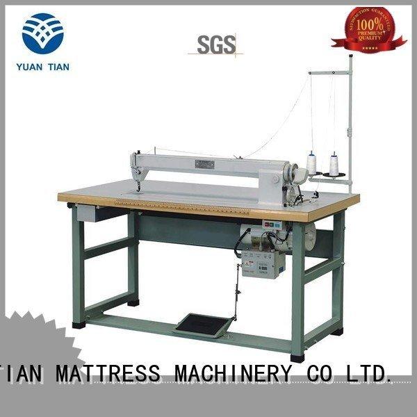 YUANTIAN Mattress Machines sewing mattress Mattress Sewing Machine bhy1 label