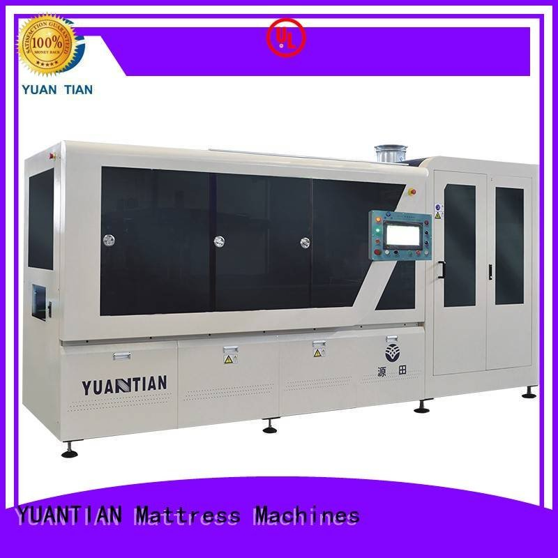 Quality Automatic Pocket Spring Machine YUANTIAN Mattress Machines Brand coiling Automatic High Speed Pocket Spring Machine