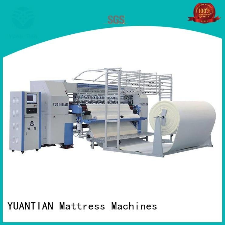 quilting machine for mattress price four quilting machine for mattress YUANTIAN Mattress Machines