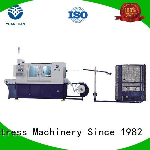 Automatic Pocket Spring Machine pocket production Automatic High Speed Pocket Spring Machine YUANTIAN Mattress Machines Warranty