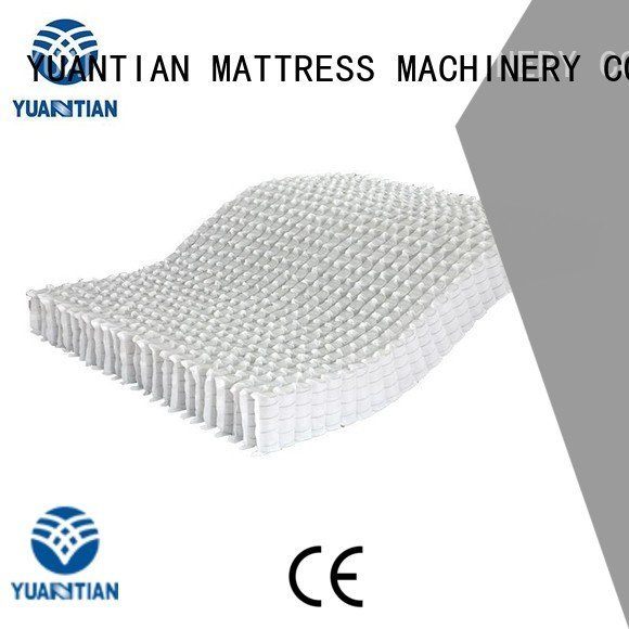zoned unit YUANTIAN Mattress Machines mattress spring unit