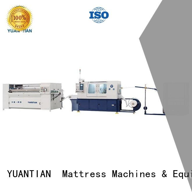 YUANTIAN Mattress Machines Brand spring speed Automatic Pocket Spring Machine production machine