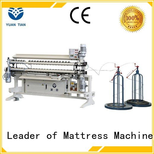 spring cw2 semiauto YUANTIAN Mattress Machines Bonnell Spring Assembly  Machine