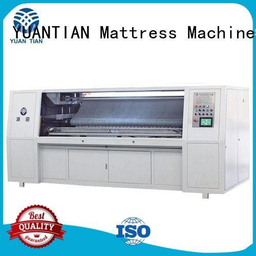 automatic pocket YUANTIAN Mattress Machines Pocket Spring Assembling Machine