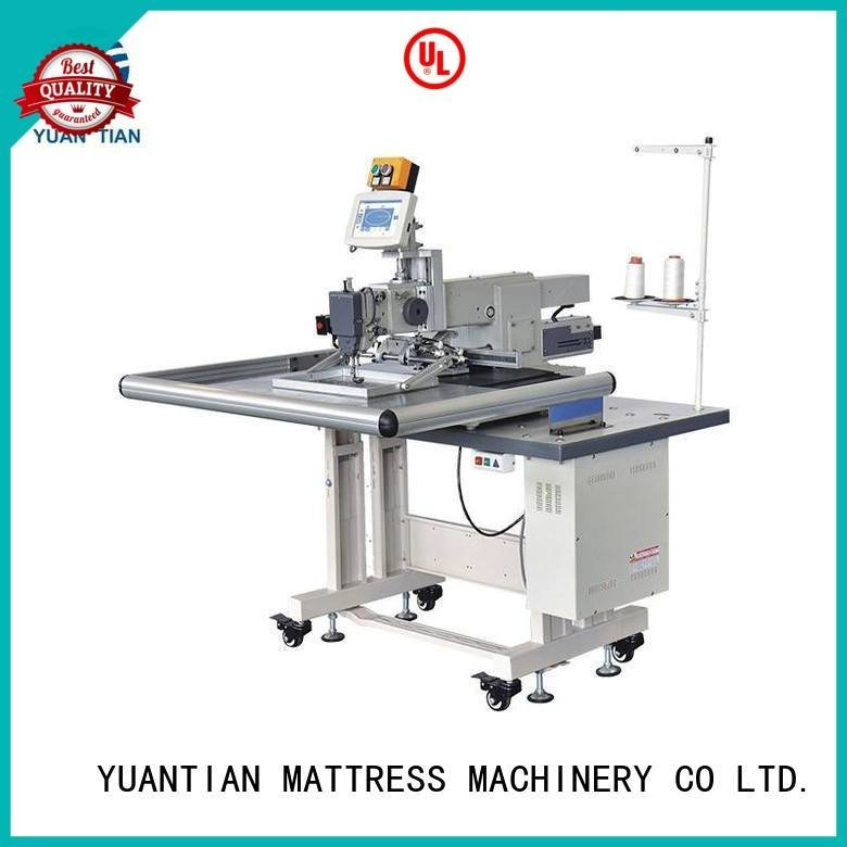 YUANTIAN Mattress Machines Brand border decorative long singer  mattress  sewing machine price